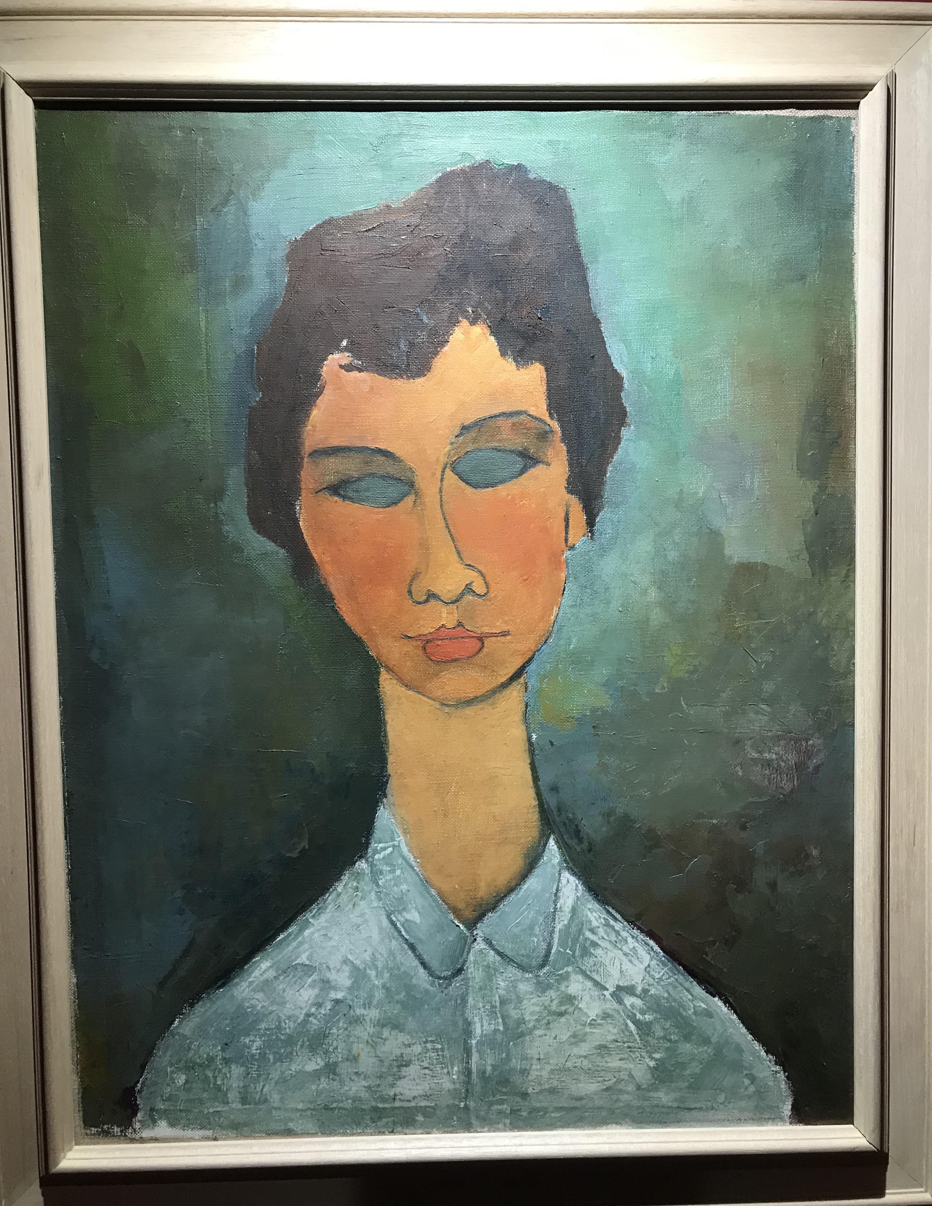 4229da55d9 QA turismo cultura & arte-Due falsi di Modigliani in mostra a Palermo  sequestrati dai